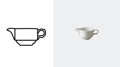 GRAVY BOAT 80 ml / 2 6/8 oz